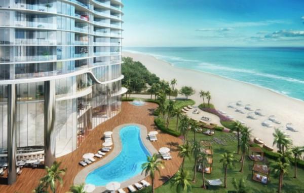 Апартаменты в Ritz-Carlton, Miami, FL, USA